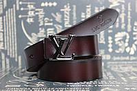 Женский коричневый ремень Louis Vuitton