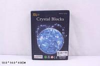 Пазлы 3D кристаллы 9040 Земля свет.кор.18*4*14 ш.к./120/