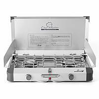 Газовая плитка Kovea Grace Twin Stove (AL II Chef Master) KB-0812 (8806372095437)