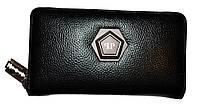 Мужской портмоне из натуральной кожи PP (13x22)