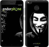 """Чехол на Xiaomi Redmi 4X Анонимус """"832c-778-9697"""""""