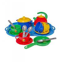 """""""Маринка 7"""" 1400, детская посудка, игрушечная посуда, игровой набор"""