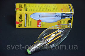 Лампа Navigator 71307 NLL-F-C35-4-230-2.7K-E14, светодиодная