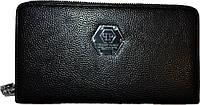 Мужской портмоне из натуральной кожи PP (12x21.5)