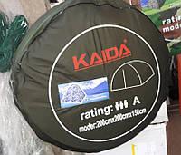 Палатка зимняя KAIDA белый камуфляж 2х2х1,5 м, качество, фото 1