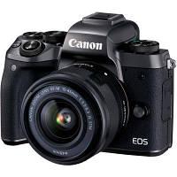Цифровой фотоаппарат Canon EOS M5 15-45 IS STM Black Kit (1279C046)