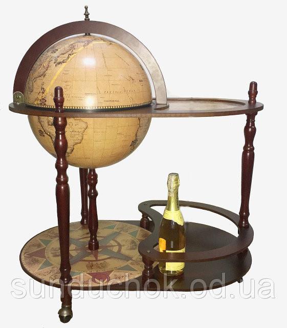 Глобус бар напольный со столиком RG 42004N - SUNDUCHOK интернет магазин подарков и сувениров  в Одессе