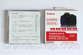 Захист основного LCD екрана і допоміжного для CANON 6D НЕ ПЛІВКА