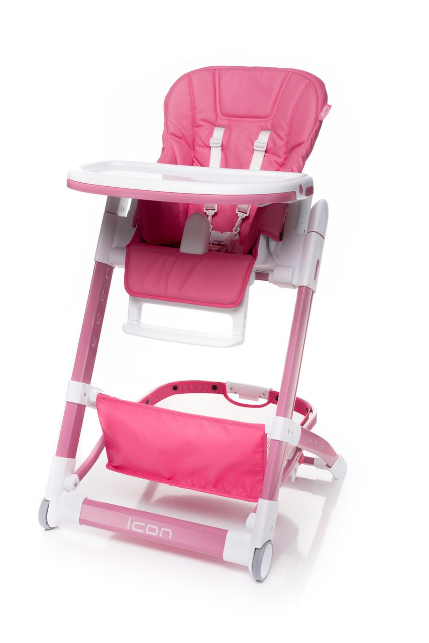 Детский стульчик для кормления с корзиной для игрушек или аксессуаров 4baby ICON