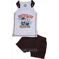 Летний костюм костюм для мальчика с шортами