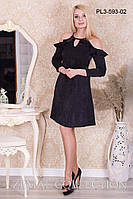 Платье нарядное Слезка ПЛ3-593  р.42-50, фото 1