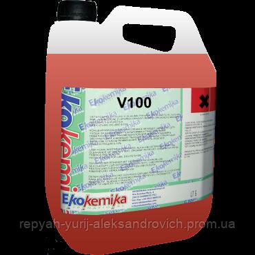 Средство для очистки двигателя Ekokemika V100 концентрат 5 л