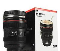 Термокружка объектив Canon 350мл, фото 1