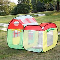 Палатка детская игровая с 50 разноцветными шариками M3708 (C1212)