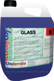 Средство для очистки стекол и зеркал Ekokemika GLASS концентрат 5 л