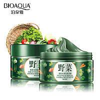 Грязевая маска с экстрактом овощей BIOAQUA Wild Vegetables Hydra Treatment Mask (120ml)