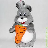 """Игрушка мягкая """"Заяц с морковкой"""" тм Золушка"""