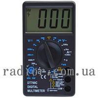 Мультиметр универсальный Digital DT-700C (со звуком+температура) (12-0918)