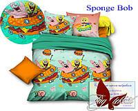 ТМ TAG Стеганное покрывало Sponge Bob