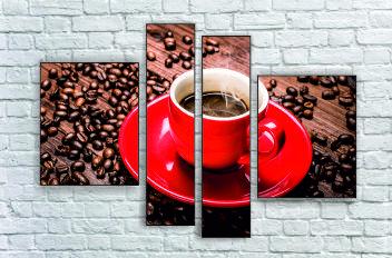 """Модульна картина"""" Кава ароматна 2"""""""
