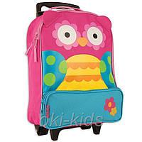 Детский дорожный чемодан. Сова. Stephen Joseph