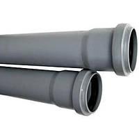 Труба пластиковая канализационная  110*1,5 метра.