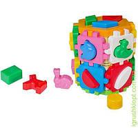 "Іграшка куб ""Розумний малюк Конструктор ТехноК""1+1, 32 элемента"