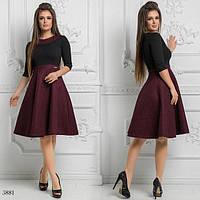 Платье расклешенное 42,44,46, фото 1