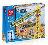 Конструктор Cities «Високий кран», конструктор Lepin 02069