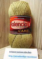 100% верблюжья шерсть (100г/ 174м) Valencia Camel F509