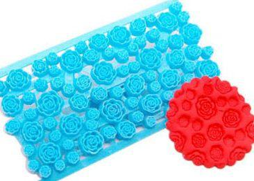 Печворк, відбиток для мастики Троянди