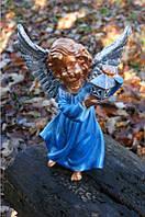 Ангел с фонарем №3 (бронза цвет)