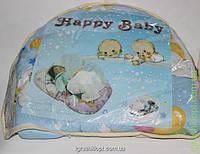 Коврик для младенца с москитной сеткой и подушкой