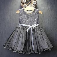 Нарядное платье с пайетками размер 116., фото 1