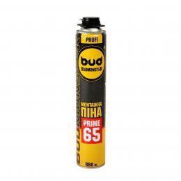 Піна професійна Budmonster Prime 65, 860 мл., 1050гр.