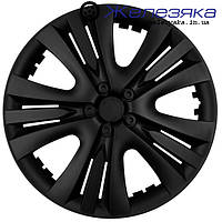 Колпаки на колеса R13 ФОРСАЖ LUX BLACK