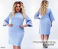 Платье простое креп 48,50,52-54,56-58,60-62