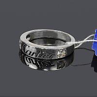 Серебряное кольцо Картье
