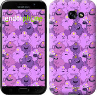 "Чехол на Samsung Galaxy A5 (2017) Принцесса Пупырка. Adventure Time. Lumpy Space Princess v3 ""1228c-444-9697"""