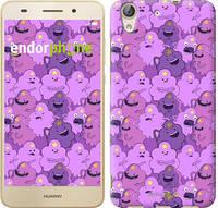 "Чехол на Huawei Y6 II Принцесса Пупырка. Adventure Time. Lumpy Space Princess v3 ""1228c-338-9697"""