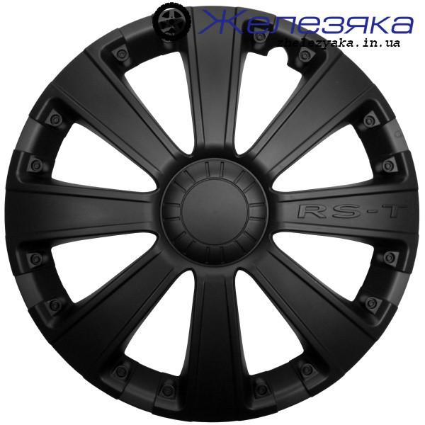 Колпаки R13 ФОРСАЖ RS-T BLACK