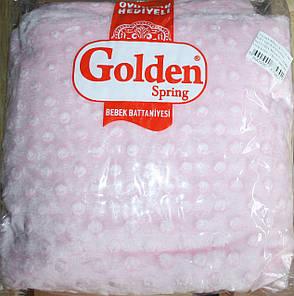 """Плед для детей с игрушкой """"Golden spring"""" (розовый), фото 2"""