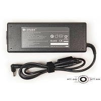 Блок питания к ноутбуку PowerPlant ASUS 220V, 19V 120W 6.32A (5.5*2.5) (AS120F5525)