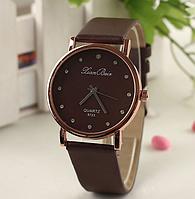 212кор - Наручные женские часы с коричневым ремешком