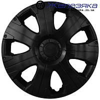 Автомобильные колпаки на колеса ФОРСАЖ R15 ULTRA BLACK