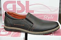 Туфли мужские из натуральной кожи GSL 01