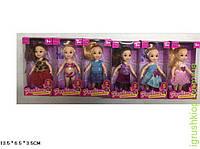Кукла маленькая 6 видов, в кор.