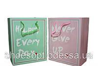 Подарочные пакеты Пастель 23х18х10 см, фото 1