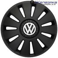 Автомобильные колпаки на колеса ФОРСАЖ R16 REX VW Volkswagen BLACK