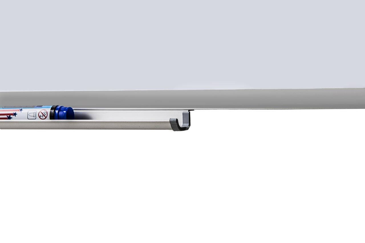 UB100x225Wk Доска магнитно - маркерная в алюминиевой раме в клетку (10 2